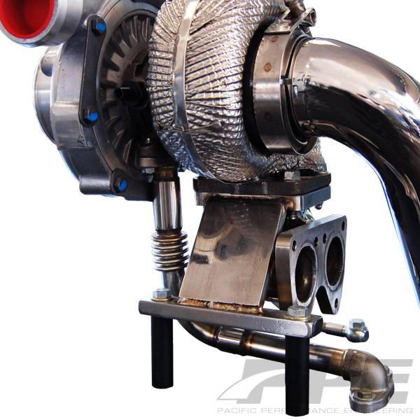 PPE GT40R Series Turbo Installation Kit, Chevy/GMC (2004.5-06) 6.6L Duramax LLY