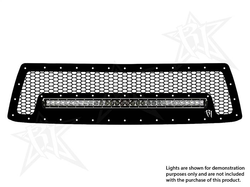 Rigid Industries Led Grille Toyota 2010 13 Tundra 30