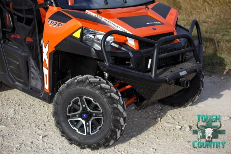 Winch For Jeep >> Tough Country UTV Front Bumper, Polaris (2011-17) 2 psgr, (11-18) 4 psgr Ranger 900/1000