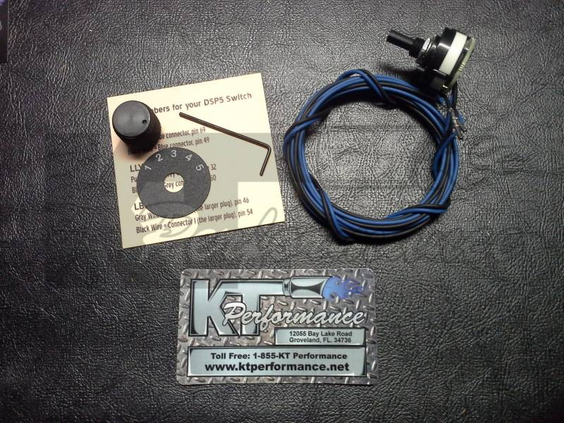 LBZ-LMM Duramax DSP5 Switch for EFI Live tuning Grey Wire