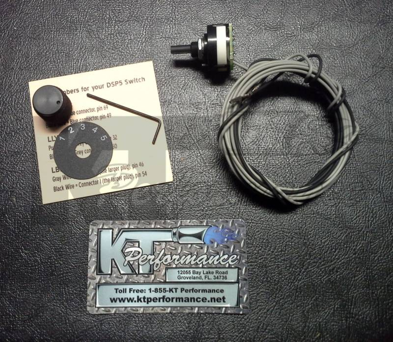 Efi Live Duramax >> Efi Live Dsp5 Selector Switch Chevy 2006 10 6 6l Duramax