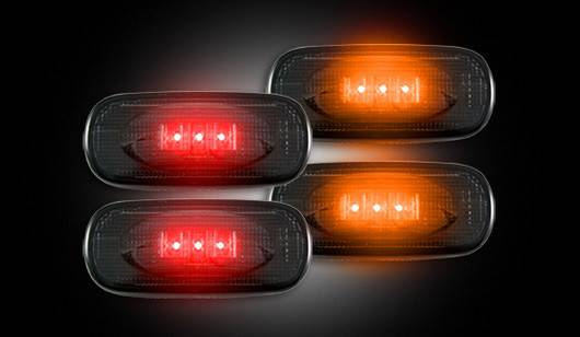 Dodge Ram 3500 Dually >> Recon Dually Fender Lights, Dodge (2010-14) 3500 Ram Dually, Smoked