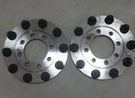 Diamond T Enterprises - Diamond T 10 Lug Dually Wheel Adapters, Chevy/GMC (1973-00) 2500-3500 (front only)