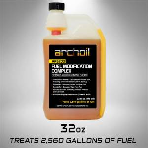 Archoil - Archoil AR6200, Combustion Catalysis and Burn Modifier Fuel Treatment 32oz