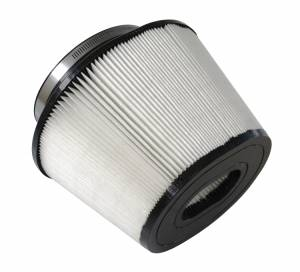 S&B - S&B Replacement Air Filter (for Ford 6.4L Intake with oval flange) Disposable, Dry Media