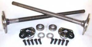 Yukon Gear & Axle - One piece axles for '76-'79 Model 20 CJ7 Quadratrack with bearings and 29 splines, kit.