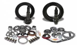 Yukon Gear & Axle - Yukon Gear & Install Kit package for Reverse Rotation Dana 60 & 88 & down GM 14T, 4.56 thick.