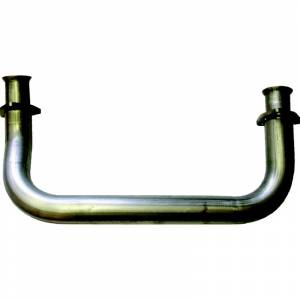 "Diamond Eye Performance - Diamond Eye Crossover Pipe, Chevy/GMC (1993-00) 6.5L Diesel (2.5"") Aluminized"