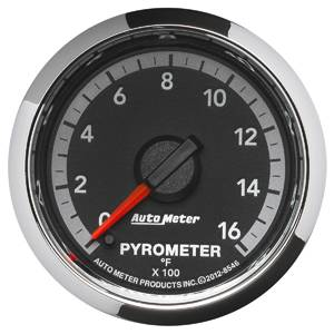 Autometer - Auto Meter Dodge 4th GEN Factory Match, EGT Pyrometer (8546), 1600*