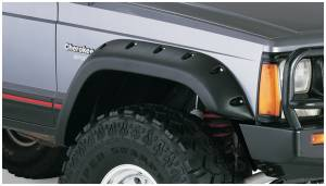 Bushwacker - Bushwacker Fender Flares,Jeep (1985-01) Cherokee Front Pair(Cut-Out)