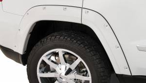 Bushwacker - Bushwacker Fender Flares,Jeep (2011-13) Grand Cherokee Fender Flare Rear Pair(Pocket Style)