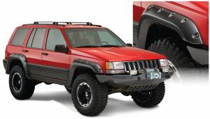 Bushwacker - Bushwacker Fender Flares,Jeep (1993-98) Grand Cherokee Set of 4(Cut-Out)