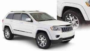 Bushwacker - Bushwacker Fender Flares,Jeep (2011-13) Grand Cherokee Fender FlareSet of 4(Pocket Style)