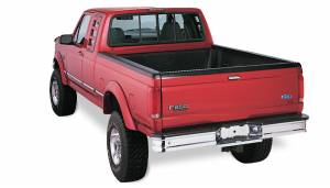 Bushwacker - Bushwacker Fender Flares,Ford (1992-1996) F-150/Bronco (1992-1997) F-250/F-350 Rear Pair(Extend-A-Fender Flare)