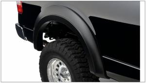 Bushwacker - Bushwacker Fender Flares,Ford / Lincoln (2004-13) F-150 (2006-06) Mark LT Rear Pair(Extend-A-Fender Flare)