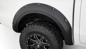 Bushwacker - Bushwacker Fender Flares,Ford (2011-13) Ranger Fender Flare Rear Pair (Pocket Style)