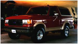 Bushwacker - Bushwacker Fender Flares,Ford (1987-1991) F-150/F-250/F-350/Bronco Set of 4(Extend-A-Fender Flare)