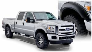 Bushwacker - Bushwacker Fender Flares,Ford (2011-15) F-250/F-350 Fender Flare Set of 4 (Pocket Style)