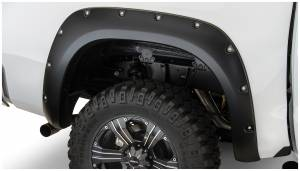 Bushwacker - Bushwacker Fender Flares,Toyota (2007-13) Tundra Fender Flare Rear Pair(Pocket Style)