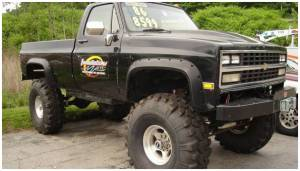 Bushwacker - Bushwacker Fender Flares,Chevy/GMC (1981-91) 1500/2500/Jimmy/Tahoe/Suburban/Blazer (1988-91) 3500 Front Pair(Cut-Out)