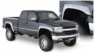 Bushwacker - Bushwacker Fender Flares,Chevy/GMC (1999-07) 1500/2500 (2001-07) 3500 Front Pair(Cut-Out)
