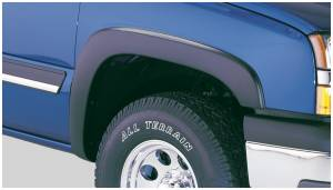 Bushwacker - Bushwacker Fender Flares,Chevy (2003-07) 1500/2500/3500 (2003-06) Avalanche Front Pair(OE Style)