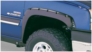 Bushwacker - Bushwacker Fender Flares,Chevy (1999-07) 1500/2500 (2001-07) 3500  Fender Flare Front Pair (Pocket Style)