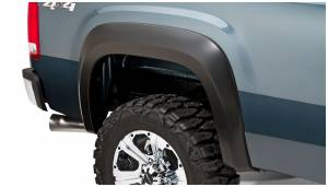Bushwacker - Bushwacker Fender Flares,GMC (2007-13) 1500 (2007-14) 2500/3500 Rear Pair(Extend-A-Fender Flare)