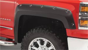 Bushwacker - Bushwacker Fender Flares,Chevy (2014-15) 1500 (2015) 2500/3500 Fender Flare Front Pair (Pocket Style)