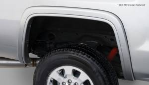 Bushwacker - Bushwacker Fender Flares,GMC (2014) 1500 (2015) 2500/3500 Rear Pair(OE Style)