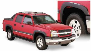 Bushwacker - Bushwacker Fender Flares,Chevy (2003-06) 1500/2500/Avalanche Set of 4(OE Style)