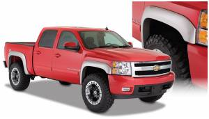 Bushwacker - Bushwacker Fender Flares,Chevy (2007-13) 1500 Set of 4(Extend-A-Fender Flare)