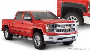 Bushwacker - Bushwacker Fender Flares,Chevy (2014-15) 1500 (2015) 2500/3500 Fender Flare Set of 4 (Pocket Style)