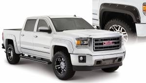 Bushwacker - Bushwacker Fender Flares,GMC Boss (2014-15) 1500 Fender Flare Set of 4 (Pocket Style)