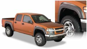 Bushwacker - Bushwacker Fender Flares,Chevy / GMC (2004-12) Colorado/Canyon Front Pair(Extend-A-Fender Flare)