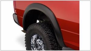 Bushwacker - Bushwacker Fender Flares,RAM (2009-14) 1500 (2010-14) 2500/3500 Rear Pair (Extend-A-Fender Flare)