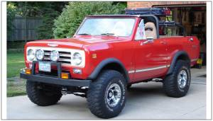 Bushwacker - Bushwacker Fender Flares,International (1972-80) Scout II Rear Pair(Extend-A-Fender Flare)