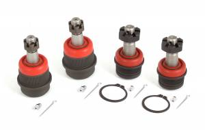 Alloy USA - Alloy USA 4 Piece Ball Joint Kit (2007-15) Jeep Grand Cherokee/Wrangler WJ/JK