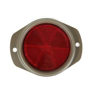 Omix-ADA - Red Reflector, Olive Drab; 41-45 Willys MB & Ford GPW