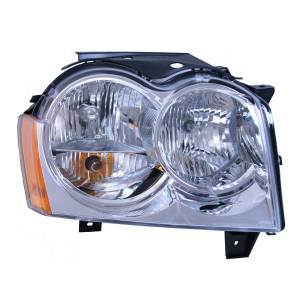 Omix-ADA - Right Headlight Assembly; 05-10 Jeep Grand Cherokee WK