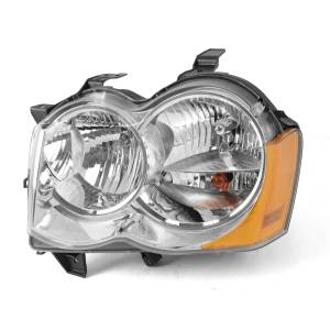 Omix-ADA - LH Headlight Without Fog Lights; 05-10 Jeep Grand Cherokee WK