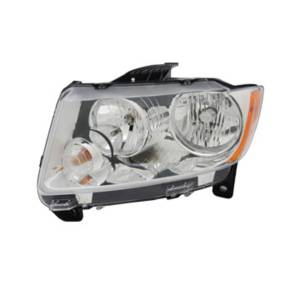 Omix-ADA - Headlight Assembly, Left; 11-13 Jeep Grand Cherokee WK2