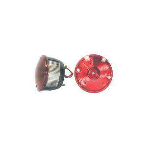 Omix-ADA - Left Round Tail Lamp; 45-75 Willys/CJ Models
