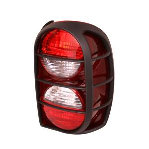 Omix-ADA - Left Tail Light with Air Dam; 05-07 Jeep Liberty KJ