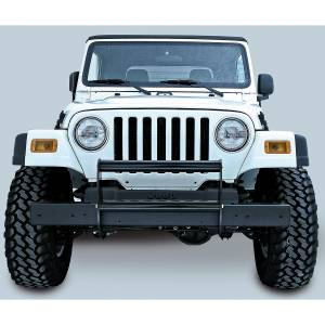 Rugged Ridge - Rugged Ridge Brush Guard, Gloss Black (1997-06) Jeep Wrangler TJ