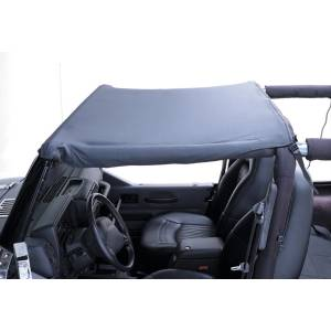 Rugged Ridge - Rugged Ridge Summer Brief Top, Black (1987-91) Jeep Wrangler YJ