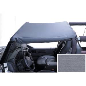 Rugged Ridge - Rugged Ridge Summer Brief Top, Gray (1987-91) Jeep Wrangler YJ