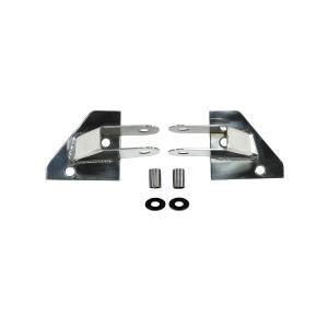 Rugged Ridge - Mirror Relocation Brackets, Stainless Steel; 87-95 Jeep Wrangler YJ