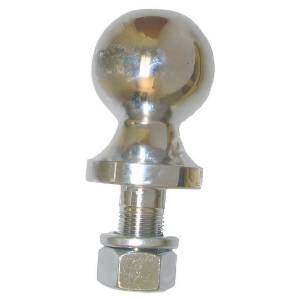 "Rugged Ridge - Rugged Ridge 2"" Trailer Hitch Ball, Chrome"