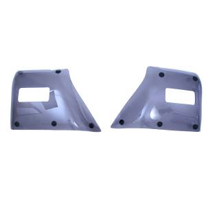 Rugged Ridge - Molded Fender Guards; 97-06 Jeep Wrangler TJ